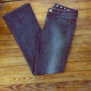 Earnest Sewn Hefner Mid Rise Bootcut Jeans